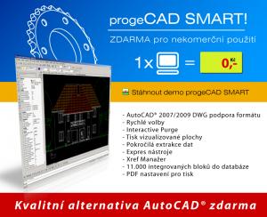 progeCAD Smart! FREE 2009 - náhled