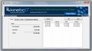 NetMeter 8.2 - náhled