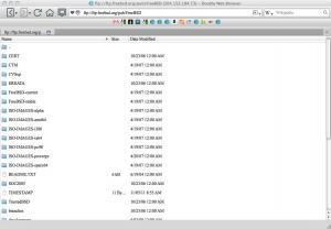 Dooble Web Browser 1.56c - náhled