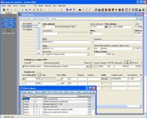 Podvojné účetnictví ORAX 17.112 - náhled
