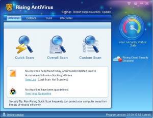 Rising Free Antivirus 23.00.24.98 - náhled