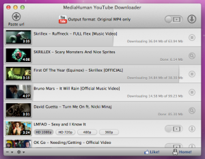 YouTube Downloader 3.9.8 - náhled