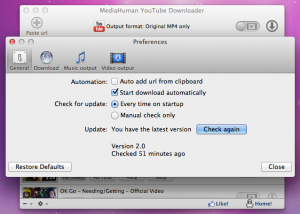 YouTube Downloader 5.9.7 - náhled