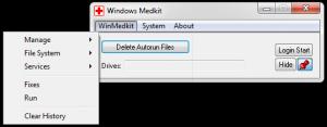 Windows Medkit 1.63 - náhled