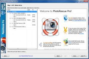 PhotoRescue Pro 6.16 - náhled