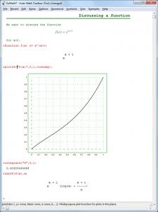 Euler Math Toolbox 2014-07-29 - náhled