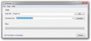 Siteloader 1.5.0 - náhled
