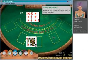 Paul's Blackjack 1.6 - náhled