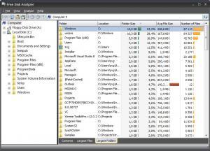 Free Disk Usage Analyzer 1.0.1 - náhled