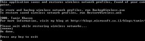 WirelessMigrator 1.0 - náhled