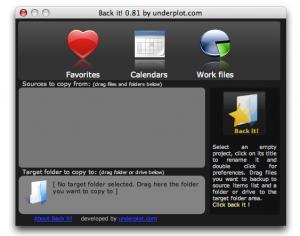 Backit ! 0.85 - náhled