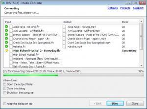 Media Converter 1.0.7 - náhled
