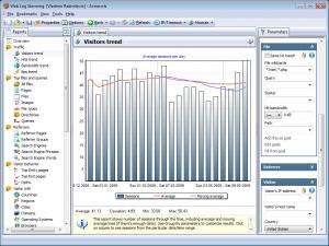 Web Log Storming 2.8.1 - náhled