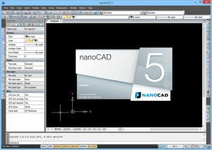 nanoCAD 5.0 #2000 - náhled