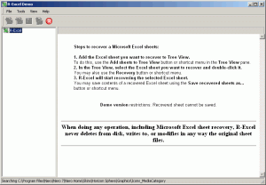 R-Excel 1.2 - náhled