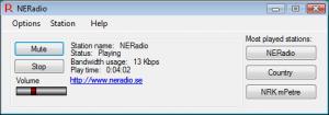 Radio Stream Player 2.1.3.4 - náhled