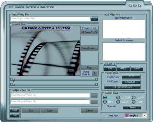 SID Video Cutter & Splitter InDepth 1.8.0.2 - náhled