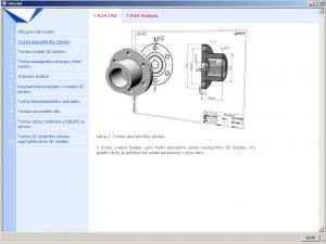 Český tutoriál T-Flex CAD, analýza 12.0.63.0 - náhled