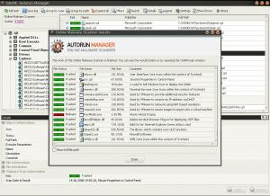 OSAM - Online Solutions Autorun Manager Portable 5.0 - náhled