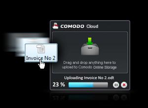 Comodo Cloud 2.1.8 - náhled