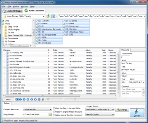 Magic Audio Converter CD Ripper 2.7.12 - náhled