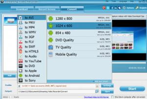Apowersoft Streaming Video Recorder 4.9.0 - náhled
