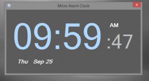 Micro Alarm Clock 1.0.7 - náhled