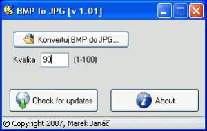 BMP to JPG 1.01 - náhled