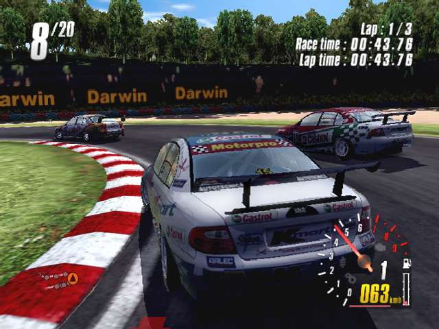toca race driver 2 psp