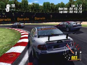 ToCA Race Driver 2 Demo - náhled