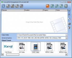 ConvertVid 2.0.0.37 - náhled