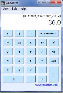 BODMAS Calculator 2.0.9.0 - náhled