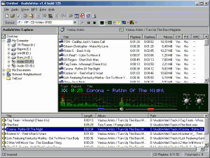 AudioWriter 1.5 - náhled