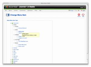 Joomla! 3.8.0 - náhled