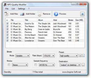 MP3 Quality Modifier 2.52 - náhled