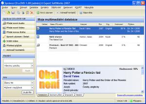 Monotea Správce CD a DVD 1.10 - náhled
