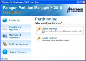 Partition Manager Free Edition 14 - náhled