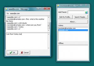 NonTube Messenger 1.10 - náhled