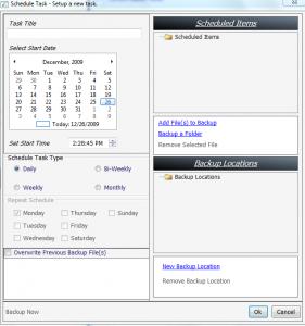 AsaBackup 2.0.25.100 - náhled