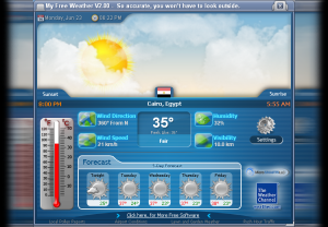 My Free Weather 2.24 - náhled