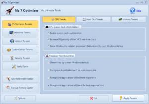 Mz 7 Optimizer 1.1.0 - náhled