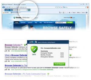 Browser Defender 3.0.0.312 - náhled
