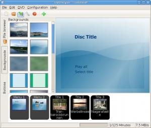 DVDStyler 3.0.4 - náhled