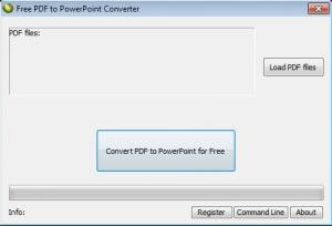 Free PDF to PowerPoint Converter 3.00 - náhled