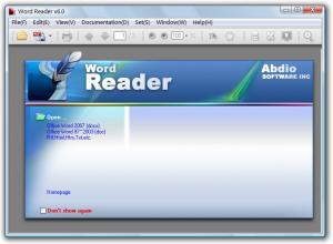 Word Reader 6.303.5 - náhled