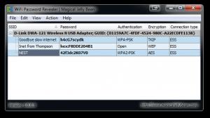 WiFi Password Revealer 1.0.0.7 - náhled