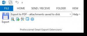 MessageExport 2.3.0.63 - náhled