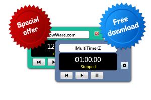 MultiTimerZ 1.0 - náhled