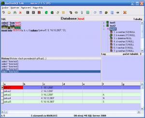 SQL Talk 3.1.1.97 - náhled