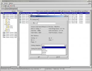 GWhere 0.2.3 - náhled